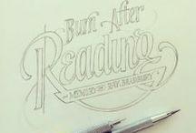 type/font/letterpress/logo/design