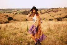 ☮ Free Spirit ☮ / Boho, Bohemian, Boho chic, Hippie, Gypsy, Tribal, Clothing, Fashion, Life style, Ethnic,  / by Caravan to the Moon