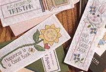 Cross Stitch, misc. (Biscornus, bookmarks) / by Teresa Beckman