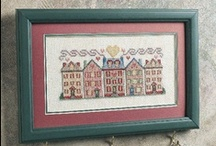Cross stitch Houses and buildings / by Teresa Beckman