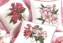 Cross stitch Flowers, Garden / by Teresa Beckman