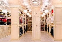 CLOSETS WE COVET / The most beautiful assortment of luxury closets with perfectly organized wardrobes! / by Consign Of The Times