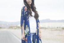 Kimono Inspired / by Kat
