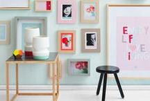 Gallery Wall  / Picture frames and canvases