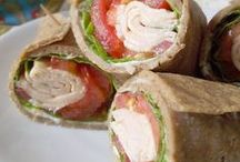 Grain Free Flat breads and Wraps / by Janet Potts