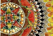 tangled zen / Zentangle inspiration. I want to try it, learn and see what I can do.