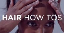 Hair How Tos / From a ponytail to bantu knots and every braid and updo in between, learn how to create hairstyles for every hair type and occasion.