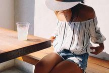 outfit inspo / ensemble ideas, layers, patterns / by Kiley Eiken