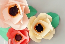DIY - Flowers / Tutorials to make your own flowers.