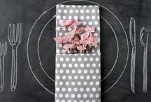 Napkin Folds & Menu Card Ideas / by Atlas Party Rental