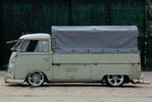 VW BUS side / by Ed van der Hoek
