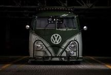 VW BUS face / Volkswagen bus front views / vw voorkant / by Ed van der Hoek