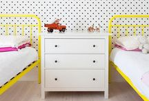 Four little walls / Kid space inspiration / by Laura J
