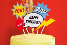 Entertaining   Superhero Party / The best ideas for an amazing Superhero Birthday Party.