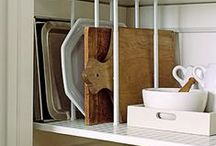 DIY   Organizing & Storage / Creative and beautiful ways to organize and store everything in your home - organize your linen closets, cupboards, pantry, and everything in between.