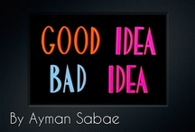 Good Idea...Bad Idea / Advertisements, marketing, posters and inventions.  And some bad ones / by Jennifer Nguyen