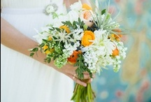 Wedding Flowers / Beautiful flowers for the bride, the church, the synagogue and the beach! Bridesmaids, groomsmen and groom.