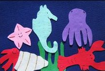 Ocean Preschool Theme / Ideas for a preschool ocean theme