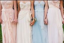 Pastel Weddings / Pastel-toned weddings such as peach, soft yellow, mint green, lavender, etc.