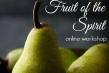 Fruit of the sprit online workshop