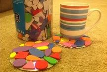 CDs into Preschool Crafts / Using old cds for preschool crafts
