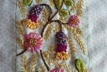 embroidery I love........ / beautiful Mandala by Miche'le Armstrong