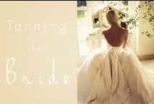 Tanning The Bride / Fabulous wedding dresses to show off a gorgeous golden glow!