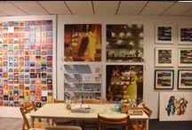 MULTIPLES (Mine and theirs) / NL / Presentaties van kunstwerkjes in de vorm van meerluiken of multiples. Reeksen van werken al dan niet van dezelfde grootte. Series van fotografie, prints, schilderijen   EN / Presentation of art works in form of multiples. Series of prints, photographs, paintings