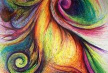 coloured pencil.......amazing ! Learn the art...........Everything you need on this board ! / Amazing medium..........Tips, tricks and amazing colouring techniques , You will find it all here ! ! !