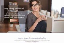 Website Design Portfolio / Website Design Portfolio - client websites I have designed at wise-owl-marketing.com.