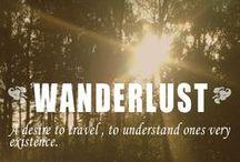 Wanderlust / by Matthew Talbot