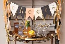 Birthday Ideas for Adults / Adult birthday party ideas! Get inspiration for birthday party themes, decorations, cakes, favors, and more.