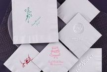 Personalized Napkins / Personalized napkins for all parties and events!