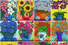 Art (flowers) / by Stephanie Johnson