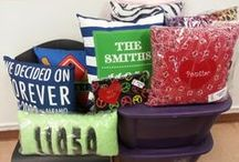 Cool and Comfy Pillows / Custom Throw Pillows for every room in the house!