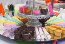 Party {cupcake} / Pink girly cupcake party.