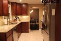 Home {kitchen} / http://mydirtyaprons.blogspot.com/2013/04/before-after-kitchen.html