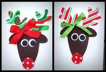 December (Santa, Elves, and Reindeer) / by Stephanie Johnson