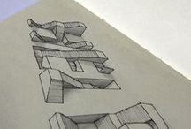 Letters and name art