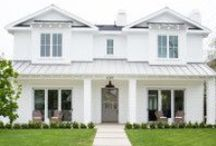 Home Exteriors / home exteriors, home stylings, home exterior ideas, styling ideas, design, architecture, home styles, homes, curb appeal