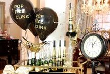 New Year's Eve Party / Our favorite New Years party ideas! Decorations, favors, and recipes that inspire us.