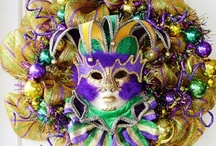Mardi Gras Party / Our favorite Mardi Gras party ideas! Get inspiration for decorations, Mardi Gras food, free party invitations, and more.
