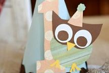 Owl Themed Kids Birthday Party / by Punchbowl