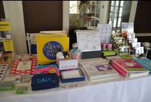 On the Road with Jodi! / Table pictures from various fairs we have participated in. We participate in school functions, charity functions and local area events. #stationery, #gifts, #invitations, #personalizedgifts