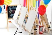 Artsy Party / Start to finish party planning ideas for an art-themed birthday party. Get your creativity on! / by Punchbowl