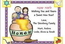 Jewish New Year - Celebrating Rosh Hashanah / #newyear #lashanatova #happynewyear #shalom #shofar #apples #honey #sweetnewyear