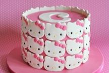 Hello Kitty Birthday Ideas / We're pinning our favorite free Hello Kitty invitations, party decorations, and ideas that will inspire you to plan a unique Hello Kitty birthday!