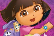 Dora the Explorer Party / Explore online invitations, party supplies, and ideas that will impress and delight your guests! / by Punchbowl