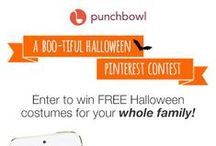Contest: BOO-tiful Halloween / Contest Ended October 2, 2015. Thanks to everyone who participated! Contest rules: http://www.punchbowl.com/p/boo-tiful-halloween-pinterest-contest