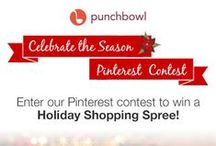 Contest: Celebrate the Season / Enter our Pinterest contest to win a Holiday Shopping Spree to Deck the Halls! Contest rules: http://www.punchbowl.com/p/celebrate-the-season-pinterest-contest